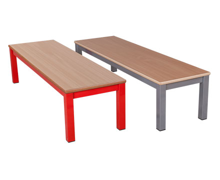 Benches - with metal legs